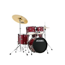 """Image for Imperialstar 5-piece Complete Drum Kit w/ Meinl HCS Cymbals - 18"""" Bass from SamAsh"""
