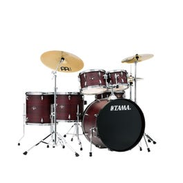 """Image for Imperialstar 6-piece Complete Drum Kit w/ Meinl HCS Cymbals - 22"""" Bass from SamAsh"""
