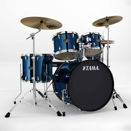 Image for Imperialstar IP52KC 5-Piece Drum Set w/ Hardware & Cymbals from SamAsh