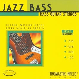 Image for JF344 E Bass Jazz Electric Bass 4 String Set (43-100) from SamAsh