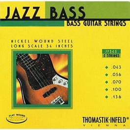 Image for JF345 E Bass Jazz Electric Bass 5 String Set (43-100) from SamAsh