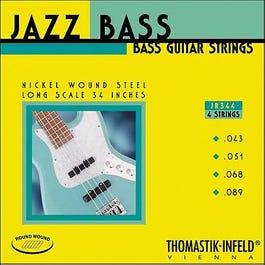 "Thomastik JR344 Jazz Round Wound, 34"" Long Scale Electric Bass String Set, 43-89"