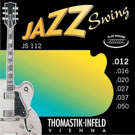 Image for JS112 Medium Light Jazz Swing Series Electric Guitar Strings (12-50) from SamAsh
