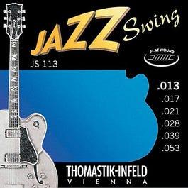 Image for JS113 Medium Jazz Swing Series Electric Guitar Strings (13-53) from SamAsh