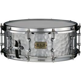"Tama 5.5"" x 14"" 1.2mm SLP Vintage Hammered Steel Snare Drum"