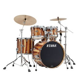 """Image for Starclassic Performer 4-Piece Drum Shell Pack - 22"""" Bass (Caramel Aurora) from Sam Ash"""