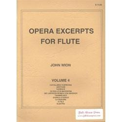Image for Opera Excerpts for Flute Vol 4 from SamAsh
