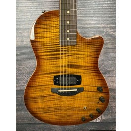 Tom Anderson Crowdster Plus Acoustic-Electric Guitar (Deep Tobacco Fade)