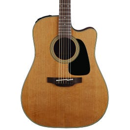 Image for P1DC Pro Series 1 Natural Satin Dreadnought Cutaway Acoustic-Electric Guitar from SamAsh