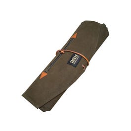 Tackle Instrument Supply Co. Waxed Canvas Roll Up Stick Case - Forest Green