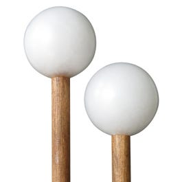Timber Drum Company Hard Poly Mallets w/ Birch Handle