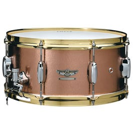 """Tama Star Reserve Vol. 4 Hand Hammered Copper 6.5""""x14"""" Snare Drum"""