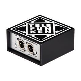 Telefunken USA TDP-2 Passive Stereo FET Direct Box