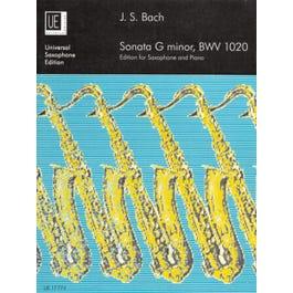 Bach-Sonata G Minor, BWV.1020 Edition for Saxophone and Piano