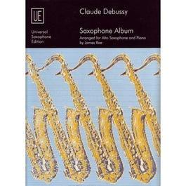 Carl Fischer Debussy Album, Alto Saxophone