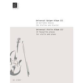 Carl Fischer Universal Violin Album, 3