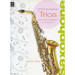 Image for Introducing Saxophone Trios by James Rae from SamAsh