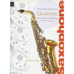 Image for Introducing Saxophone Quartets by James Rae from SamAsh