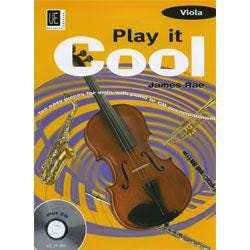 Image for Play it Cool for Viola (Book and CD) by James Rae from SamAsh