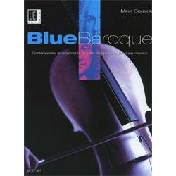 Image for Blue Baroque for Cello and Piano by Mike Cornick from SamAsh
