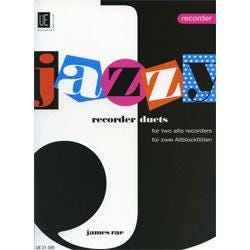 Image for Jazzy Recorder Duets for Two Alto Recorders from SamAsh