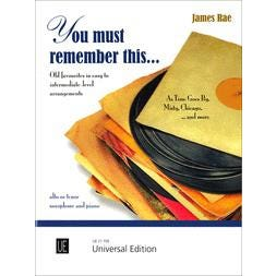 Carl Fischer You Must Remember This...-Alto Sax,Tenor sax,Pacc.
