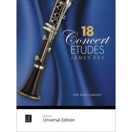 Carl Fischer Rae-18 Concert Etudes