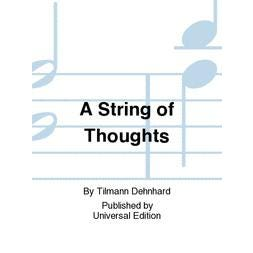 Carl Fischer A String of Thoughts For Flute and Piano