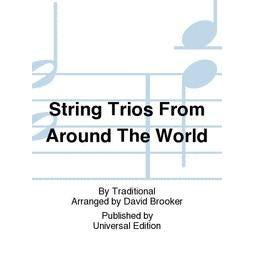 Carl Fischer String Trios From Around The World