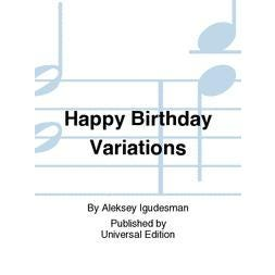 Carl Fischer Happy Birthday Variations - violin and piano
