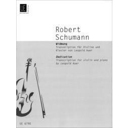 Carl Fischer Schumann-Widmung (Dedication)