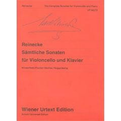 Image for Reinecke-Complete Violoncello Sonatas from SamAsh