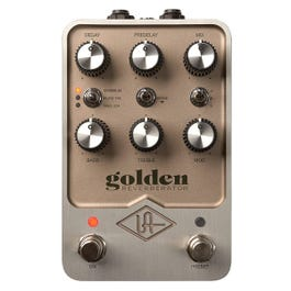 Image for Golden Reverbarator Guitar Effects Pedal from Sam Ash