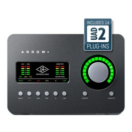 Image for Arrow Desktop 2x4 Thunderbolt 3 Audio Interface w/ Realtime UAD-2 SOLO Core Processing from SamAsh