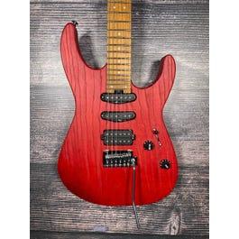 Charvel Pro Mod DK24 HSS Electric Guitar (Red Ash)