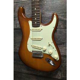 Fender 2020 American Performer Stratocaster Electric Guitar (Honey Burst)