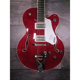 Gretsch G6119 Chet Atkins Tennessee Rose Hollowbody Electric Guitar (Deep Cherry Stain)