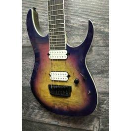 Ibanez RGIX7FDLB RG Iron Label Electric Guitar (Northern Lights Burst)