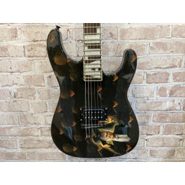Jackson Scott Ian Signed Limited Edition ATL Soloist (Among the Living Graphic)