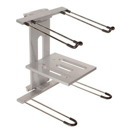 Ultimate Support JS-LPT400 JamStands Aluminum Double-tier, Laptop/DJ Stand
