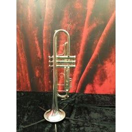 King 2055S Silver Flare King Intermediate Trumpet