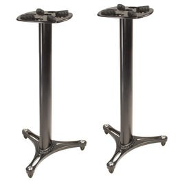 """Ultimate Support MS-90/36B - 36"""" Column Studio Monitor Stands"""