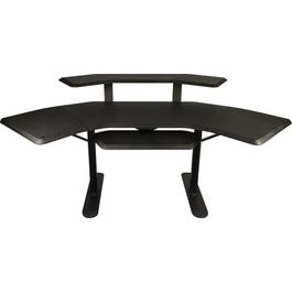 """Ultimate Support Nucleus 2 Studio Desk - 12"""" Extensions, 2nd Tier and Keyboard Tray"""