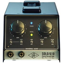 Image for SOLO 610 Classic Vacuum Microphone Preamp and Tube DI Box from SamAsh