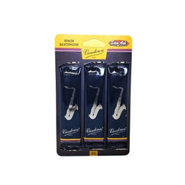 Image for Traditional Tenor Saxophone Reeds 3-Pack from SamAsh