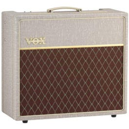 """Image for AC15 Hand-Wired 1x12"""" Tube Guitar Combo Amp w/Celestion Alnico Blue Speaker from SamAsh"""