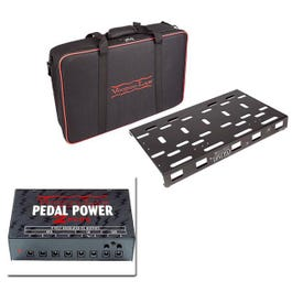 Dingbat Pedalboard Power Package with Gig Bag and Pedal Power 2 PLUS, Medium