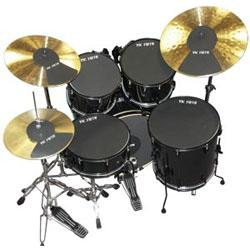 Image for Complete Drum and Cymbal Mute Pack from SamAsh