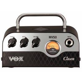 Vox MV50 Clean 50-Watt Hybrid Guitar Amplifier Head