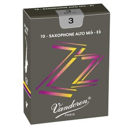 Image for ZZ Series Alto Saxophone Reeds (Box of 10) (Assorted Strengths) from SamAsh